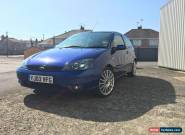 Ford Focus 2.0 ST170 2003 3dr, blue for Sale