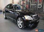 2009 Mercedes-Benz S350 W221 MY08 Black Automatic 7sp A Sedan for Sale