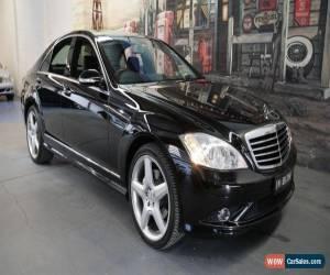 Classic 2009 Mercedes-Benz S350 W221 MY08 Black Automatic 7sp A Sedan for Sale