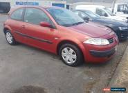 54 Renault Megane 3Dr 1400 in Red. Spares or Repair for Sale
