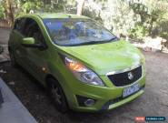 Holden Barina Spark 2011 - Green - Low KM - One owner - like new for Sale
