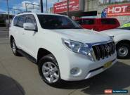 2014 Toyota Landcruiser Prado KDJ150R MY14 GXL White Automatic 5sp A Wagon for Sale