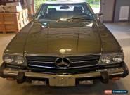 1989 Mercedes-Benz SL-Class for Sale