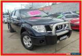 Classic 2007 Nissan Navara D40 ST-X Blue Automatic 5sp A Utility for Sale