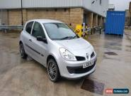 RENAULT CLIO EXTREME 2008 SILVER 1.2 Petrol 3 Door for Sale