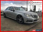 2010 Mercedes-Benz E250 CDI Silver Automatic A Sedan for Sale