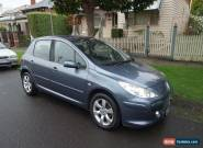 Peugeot 307 SXE Auto 2007 Grey with Leather Interior for Sale