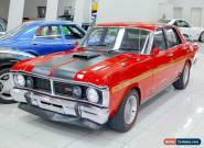 1971 Ford Falcon XY GT Track Red Manual 4sp M Sedan for Sale