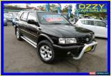 Classic 2002 Holden Frontera MX (4x4) Black Automatic 4sp A Wagon for Sale