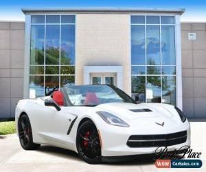 Classic 2015 Chevrolet Corvette Stingray Convertible 2-Door for Sale