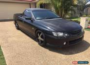 VY SS Ute 6 speed manual for Sale