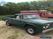 1964 Dodge Power Wagon Fargo for Sale