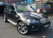 2008 BMW X5 E70 3.0SD Black Automatic 6sp A Wagon for Sale