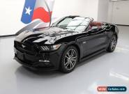 2017 Ford Mustang GT Premium Convertible 2-Door for Sale