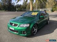 2011 Holden Commodore VE II SV6 Green Automatic 6sp A Sedan for Sale