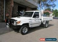2009 Toyota Landcruiser VDJ79R MY09 GXL (4x4) White 5sp 5 SP MANUAL Cab Chassis for Sale