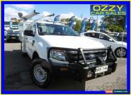 2012 Ford Ranger PX XL 3.2 (4x4) White Automatic 6sp A Cab Chassis for Sale