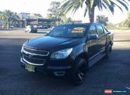 2012 Holden Colorado RG LTZ Black Automatic A Utility for Sale