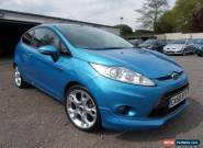 2009 Ford Fiesta 1.6 Zetec S 3dr for Sale