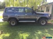 Toyota Landcruiser Wagon 1992, Auto, 80 Series for Sale