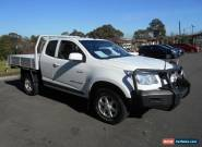 2012 Holden Colorado RG LX (4x4) Space cab White Automatic 6sp A Spacecab for Sale