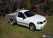 2007 Ford Falcon ute, 1 ton tray with drop sides for Sale