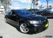 2007 Holden Commodore VE SS Black Automatic 6sp A Sedan for Sale