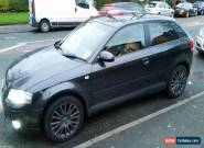 AUDI A3 2007 SPECIAL EDITION 3DR HATCHBACK 1.6 PETROL METALLIC GREY TINT WINDOWS for Sale