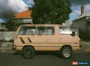 Vintage Camper Van for Sale