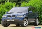 Classic BMW X5 3.0d auto 2006  Le Mans Blue Sport Edition for Sale