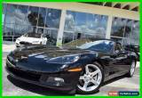 Classic 2005 Chevrolet Corvette Base Convertible 2-Door for Sale