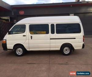 Classic Toyota Hiace Commuter 2003 for Sale