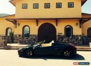 Ferrari: 458 Spider for Sale
