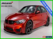 2017 BMW M3 Base Sedan 4-Door for Sale