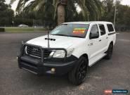 2012 Toyota Hilux KUN26R SR White Automatic A Utility for Sale
