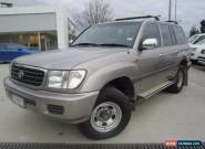 2001 Toyota Landcruiser 4.5L 4 Door Automatic 4WD  for Sale