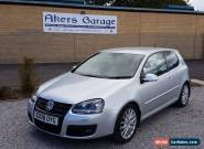 2008  VOLKSWAGEN GOLF 2.0 GT SPORT TDI 3D 138 BHP DIESEL for Sale