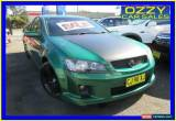 Classic 2010 Holden Commodore VE II SV6 Green Automatic 6sp A Utility for Sale