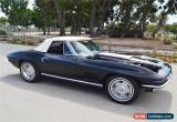 Classic 1967 Chevrolet Corvette Convertible for Sale