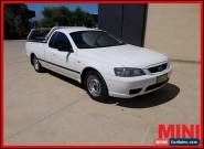 2006 Ford Falcon BF Mkiii White Automatic A Utility for Sale