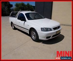 Classic 2006 Ford Falcon BF Mkiii White Automatic A Utility for Sale