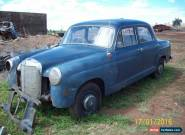 1958 Mercedes Benz 190 Sedan for Sale
