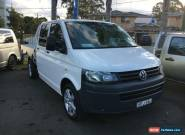 2010 Volkswagen Transporter T5 White Automatic A Cab Chassis for Sale