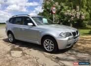 BMW X3 D M SPORT, Silver, Manual, Diesel, 2007  for Sale