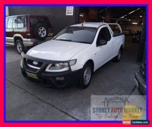 Classic 2009 Ford Falcon FG White Automatic A Utility for Sale