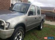 2000 Holden Rodeo LX Crewcab Turbo Diesel 2.8L for Sale