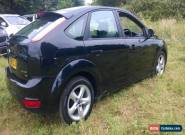FORD FOCUS 1.6 ZTEC 5 DOOR BLACK 2009 for Sale
