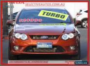 2011 Ford Falcon FG Upgrade XR6T Orange Automatic 6sp A Sedan for Sale