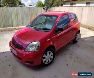 Classic 2004 Toyota Echo 3 door Hatch RED low Kilometers for Sale