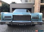 1973 Lincoln Continental Town Car RARE Right Hand Drive. 460 V8 LPG for Sale
